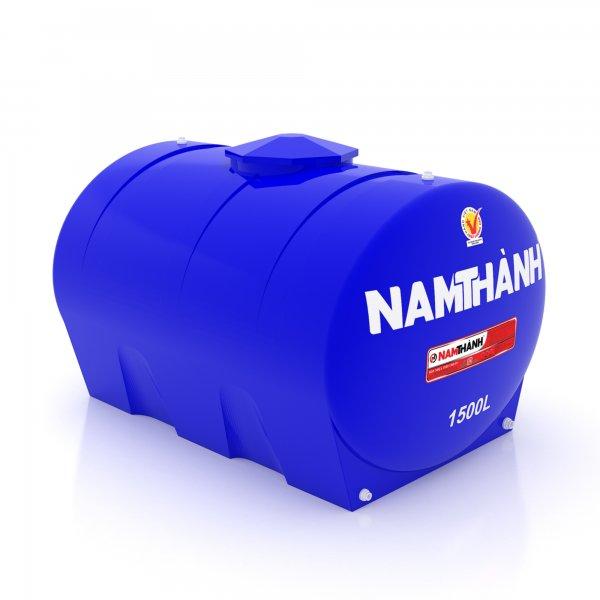 Bồn Nước Nhựa Tiêu Chuẩn 1500 Lít Ngang Nam Thành